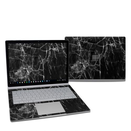 Black Marble Microsoft Surface Book 2 13.5-inch i5 Skin