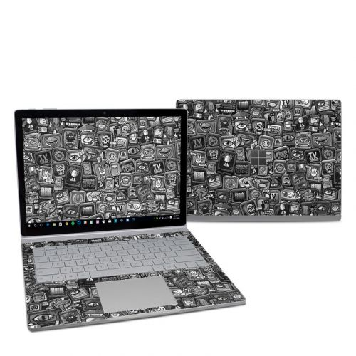 Distraction Tactic B&W Microsoft Surface Book 2 13.5-inch i5 Skin