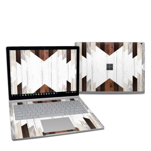 Geo Wood Microsoft Surface Book 2 13.5-inch i5 Skin