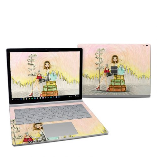 The Jet Setter Microsoft Surface Book 2 13.5-inch i5 Skin