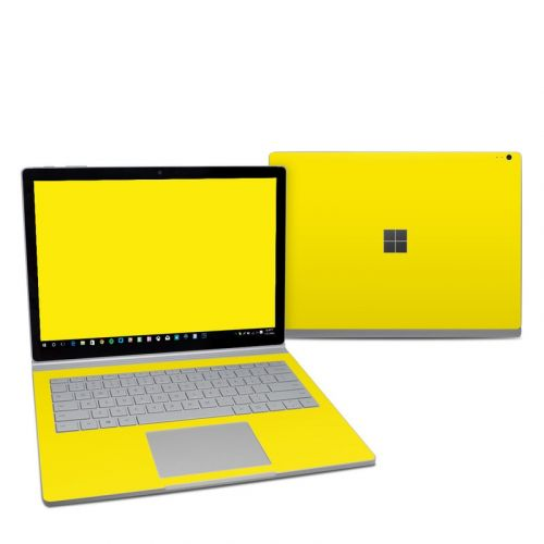 Solid State Yellow Microsoft Surface Book 2 13.5-inch i5 Skin