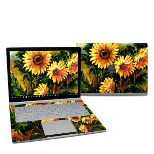 Sunflower Sunshine Microsoft Surface Book 2 13.5-inch i5 Skin