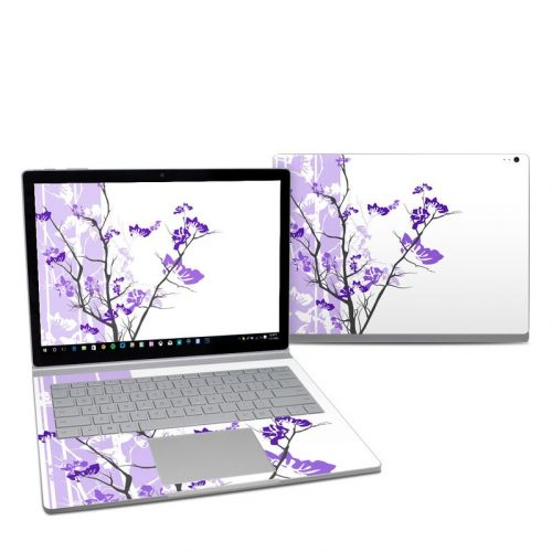 Violet Tranquility Microsoft Surface Book 2 13.5-inch Skin