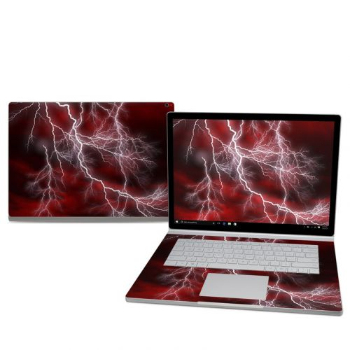 Apocalypse Red Microsoft Surface Book 2 15-inch Skin