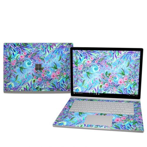 Lavender Flowers Microsoft Surface Book 2 15-inch Skin