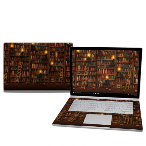 Library Microsoft Surface Book 2 15-inch Skin