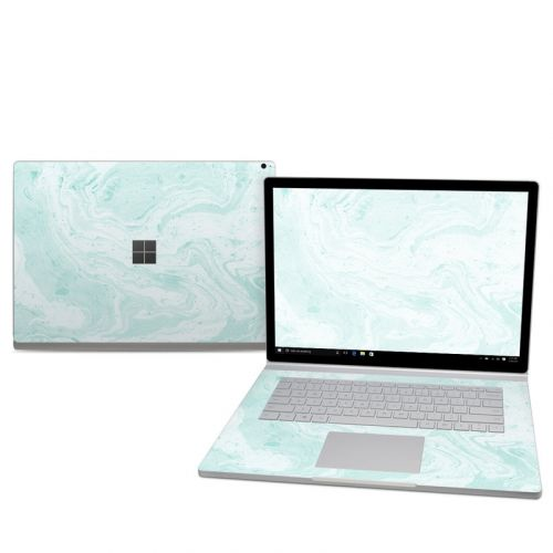 Winter Green Marble Microsoft Surface Book 2 15-inch Skin