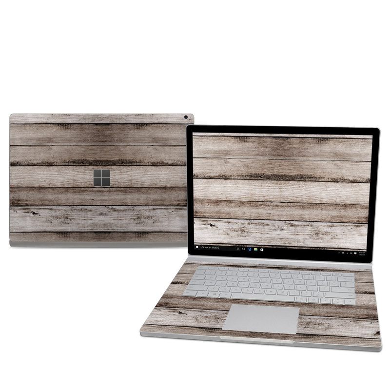 Barn Wood Microsoft Surface Book 2 15-inch Skin
