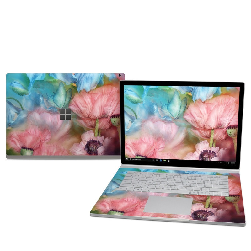Poppy Garden Microsoft Surface Book 2 15-inch Skin