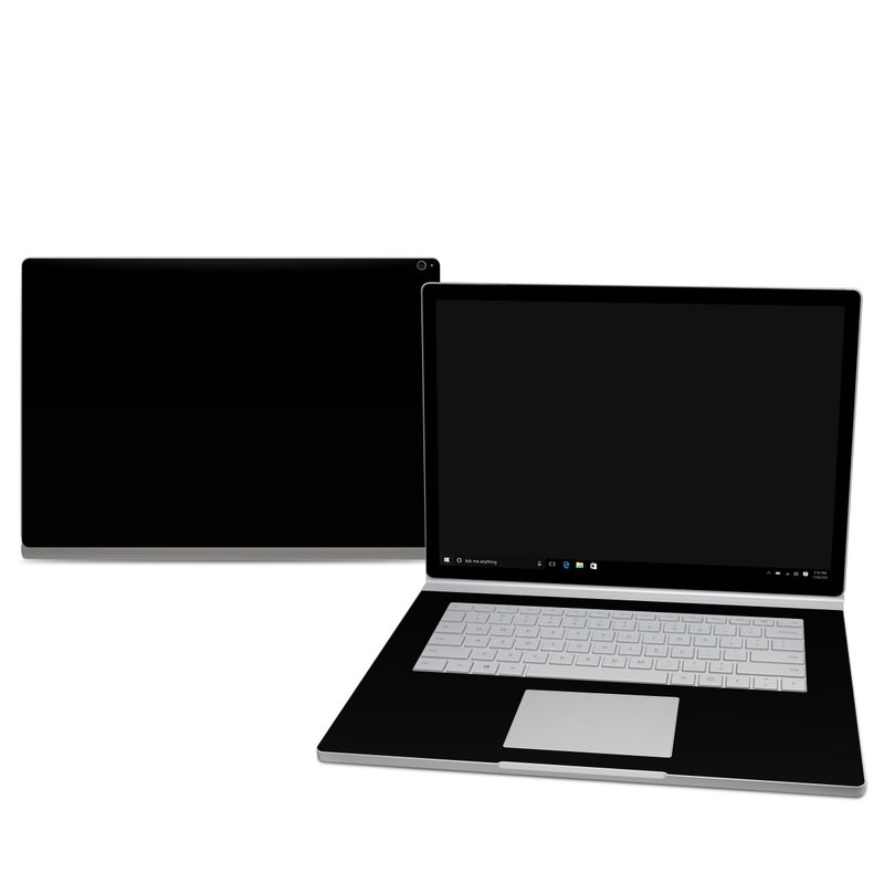 Solid State Black Microsoft Surface Book 2 15-inch Skin