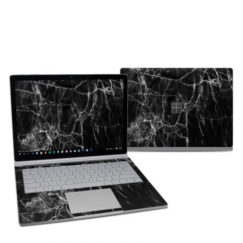 Black Marble Microsoft Surface Book 2 13.5-inch i7 Skin
