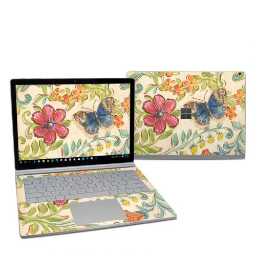 Garden Scroll Microsoft Surface Book 2 13.5-inch i7 Skin