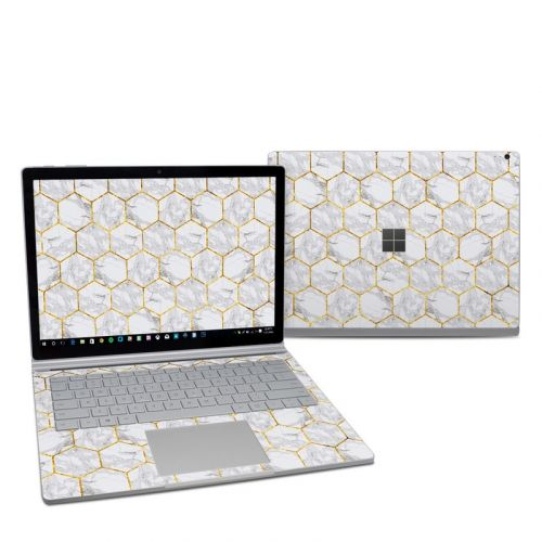 Honey Marble Microsoft Surface Book 2 13.5-inch i7 Skin