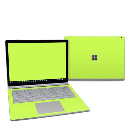 Solid State Lime Microsoft Surface Book 2 13.5-inch i7 Skin