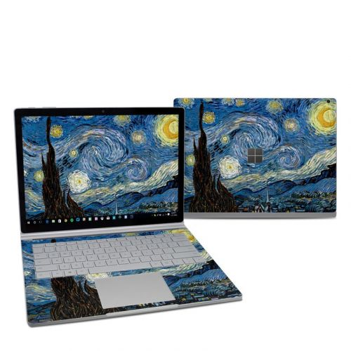 Starry Night Microsoft Surface Book 2 13.5-inch i7 Skin