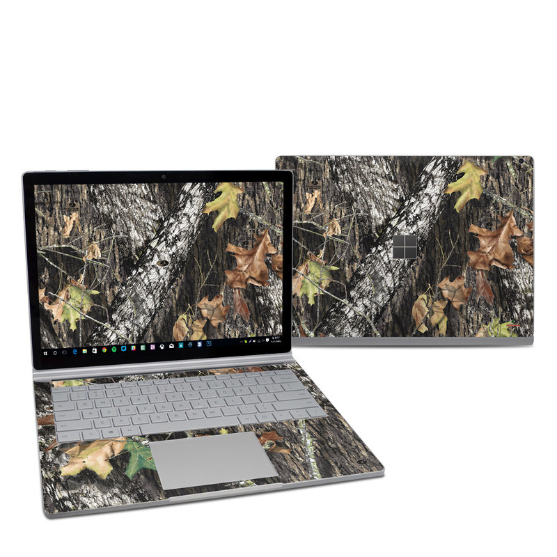 Microsoft Surface Book 2 13.5-inch i7 Skin design of Leaf, Tree, Plant, Adaptation, Camouflage, Branch, Wildlife, Trunk, Root with black, gray, green, red colors
