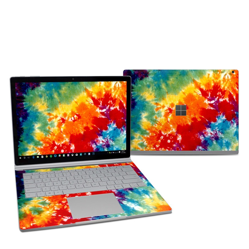 Tie Dyed Microsoft Surface Book 2 13.5-inch i7 Skin