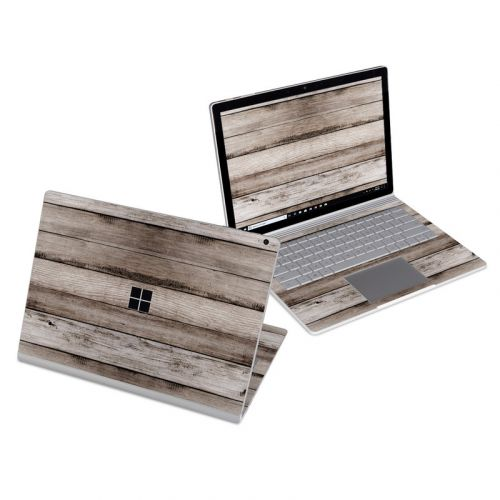Barn Wood Microsoft Surface Book 3 13.5-inch i5 Skin