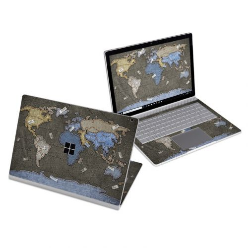 Jean Map Microsoft Surface Book 3 13.5-inch i7 Skin