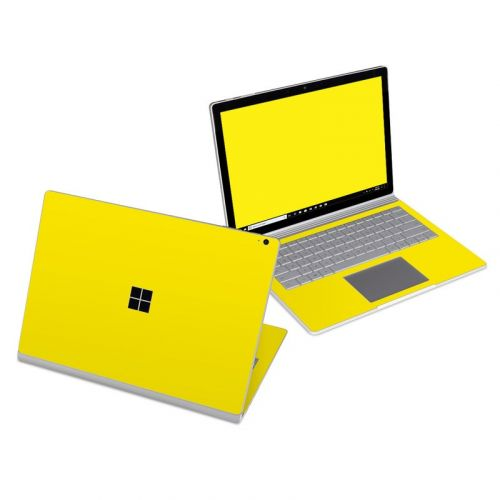 Solid State Yellow Microsoft Surface Book 3 13.5-inch i7 Skin
