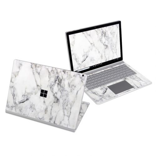 White Marble Microsoft Surface Book 3 13.5-inch i7 Skin