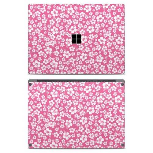 Aloha Pink Microsoft Surface Laptop Skin
