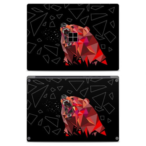 Bears Hate Math Microsoft Surface Laptop Skin