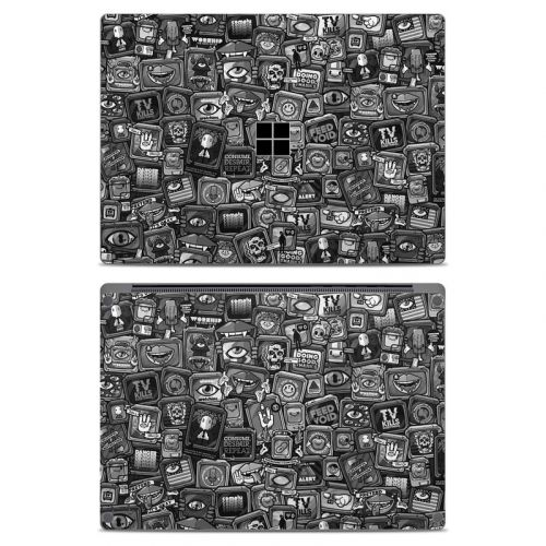 Distraction Tactic B&W Microsoft Surface Laptop Skin