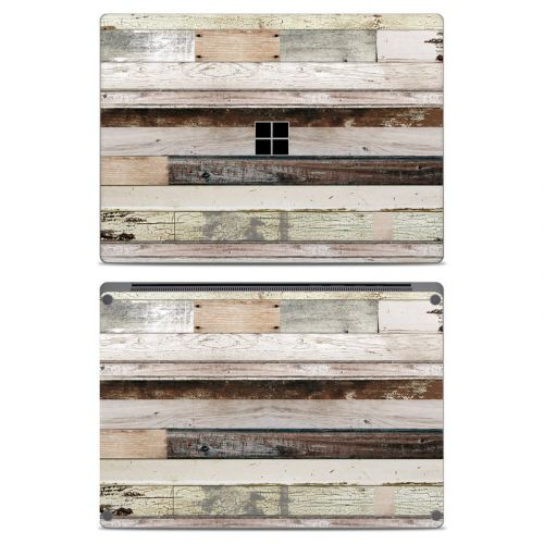 Eclectic Wood Microsoft Surface Laptop Skin