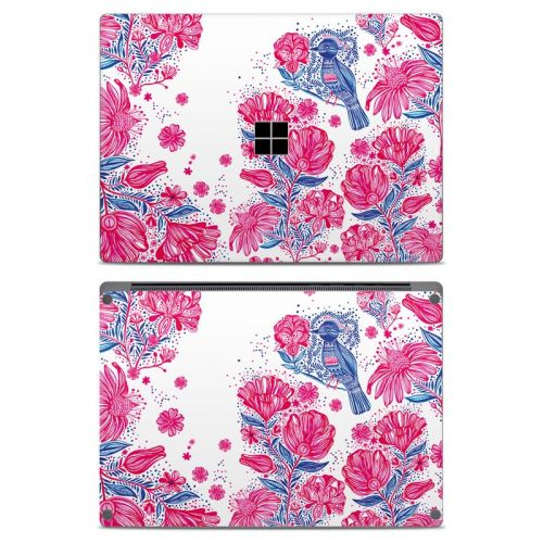 Freedom Flowers Microsoft Surface Laptop Skin