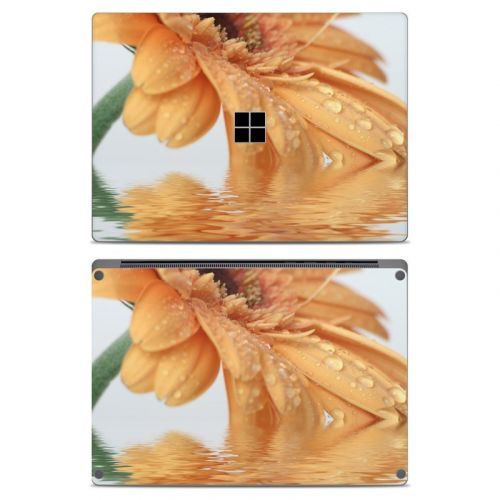 Golden Gerbera Microsoft Surface Laptop Skin