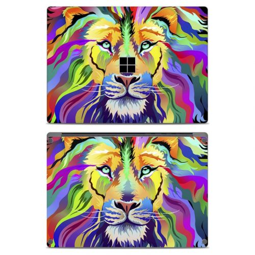 King of Technicolor Microsoft Surface Laptop Skin