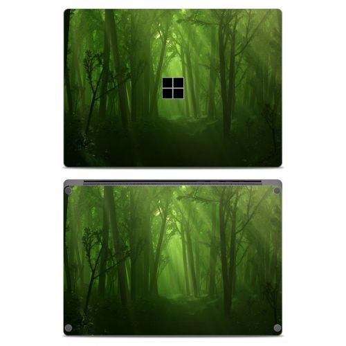 Spring Wood Microsoft Surface Laptop Skin