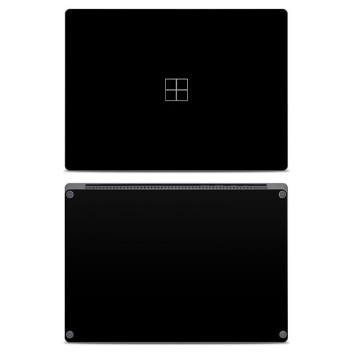 Solid State Black Microsoft Surface Laptop Skin