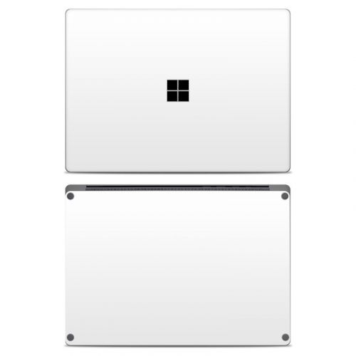 Solid State White Microsoft Surface Laptop Skin