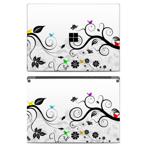 Tweet Light Microsoft Surface Laptop Skin