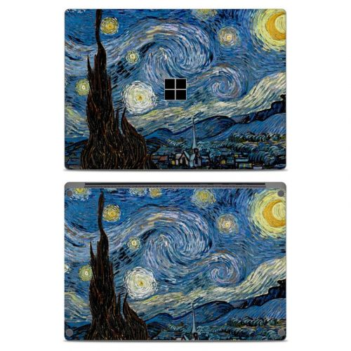 Starry Night Microsoft Surface Laptop Skin
