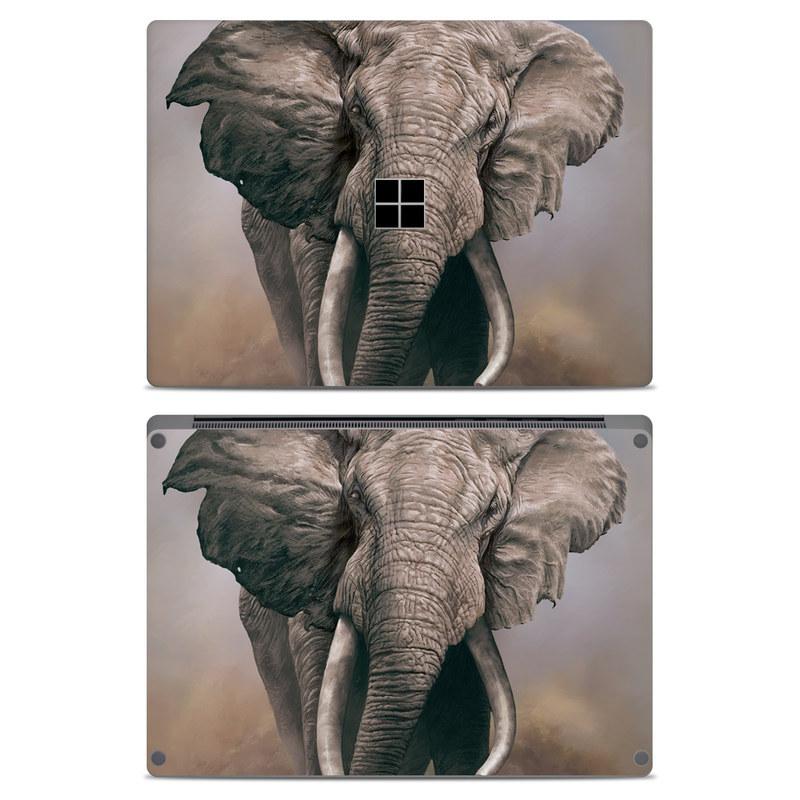 African Elephant Microsoft Surface Laptop Skin