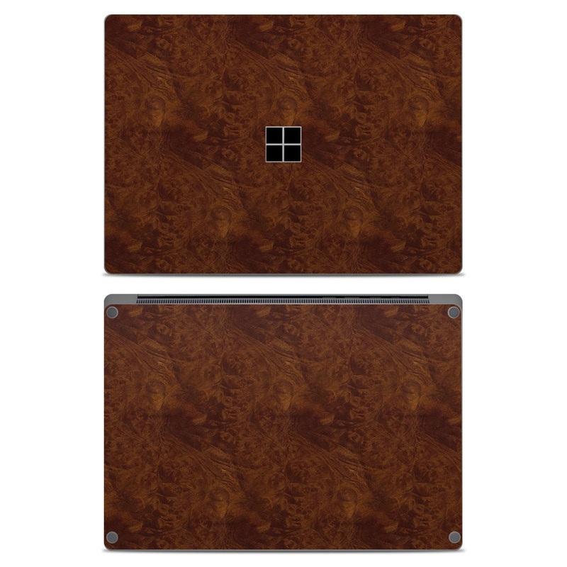 Microsoft Surface Laptop Skin design of Brown, Wood, Wood flooring, Caramel color, Pattern, Hardwood, Wood stain, Flooring, Floor, Plywood with brown colors