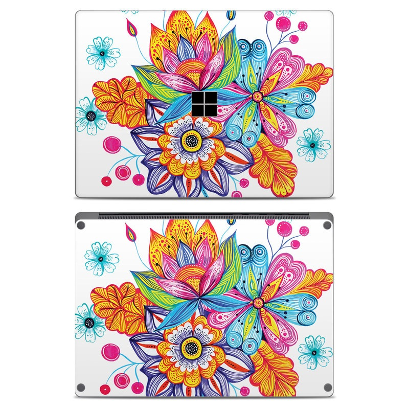 Flowers Bouquet Microsoft Surface Laptop Skin