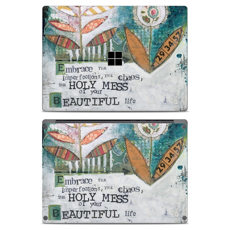 Holy Mess Microsoft Surface Laptop Skin