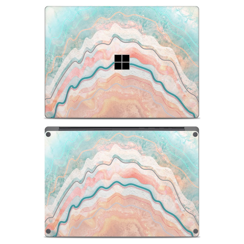 Spring Oyster Microsoft Surface Laptop Skin