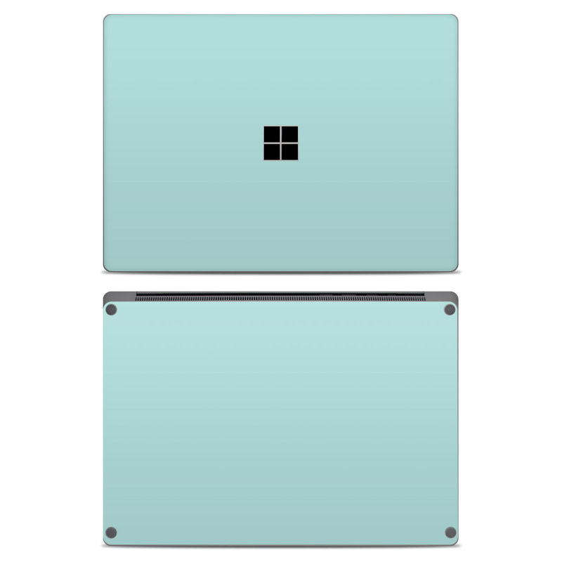 Solid State Mint Microsoft Surface Laptop Skin