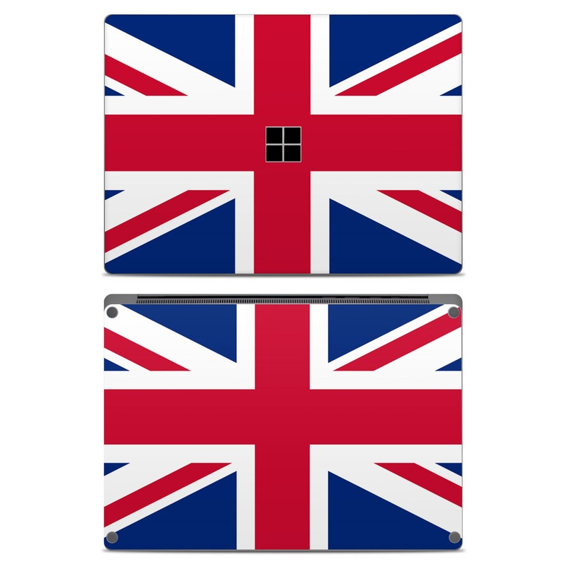 Union Jack Microsoft Surface Laptop Skin