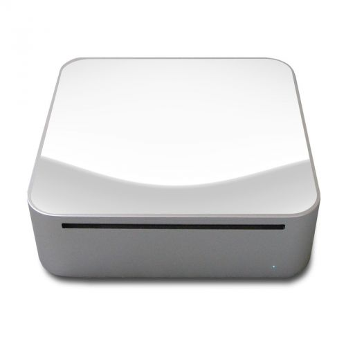 Solid State White Mac mini Skin