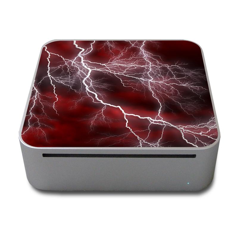 Apocalypse Red Mac mini Skin