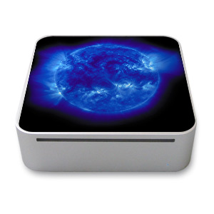 Blue Giant Mac mini Skin