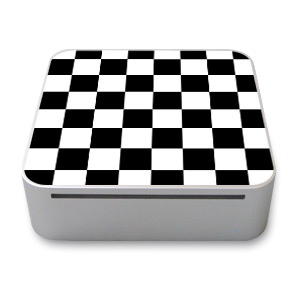 Checkered Mac mini Skin