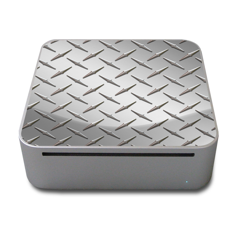 Diamond Plate Mac mini Skin