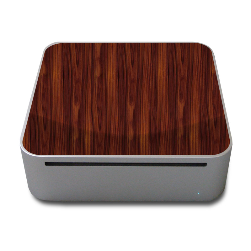 Dark Rosewood Mac mini Skin